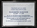 Berliner Gedenktafel Faradayweg 15 (Dahlem) Elisabeth Bergner.jpg