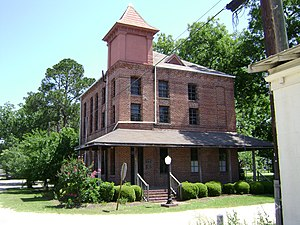 National Register of Historic Places listings in Berrien County, Georgia - Image: Berrien County Jail Historic