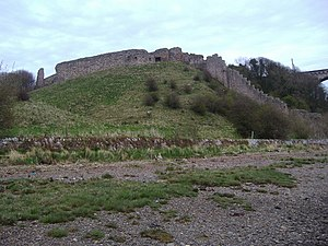 Henry Percy, 3rd Earl of Northumberland - The remains of Berwick Castle today
