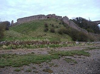 Siege of Berwick (1333) - Image: Berwick Castle geograph.org.uk 768511