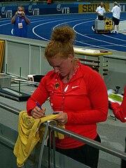 Betty Heidler WM 2009