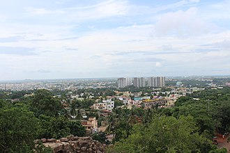Bhubaneswar - City of Bhubaneswar from Khandagiri hill