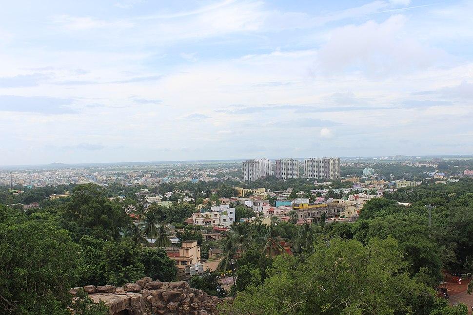 Bhubaneswar skyline