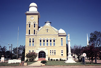 Centreville, Alabama - Bibb County Courthouse in Centreville