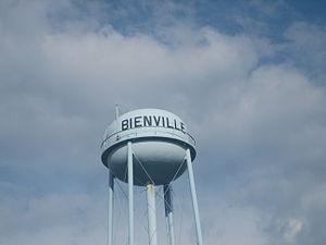 Bienville, Louisiana - Water tower in Bienville