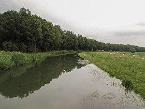 Linge - Image: Bij Eldik, de Linge 2010 08 01 16.16