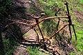 Bike-wreck in woodland in South-Sweden.jpg