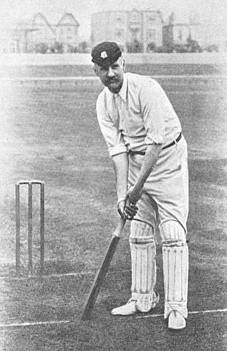 Billy Barnes (cricketer) - Billy Barnes on the playing field