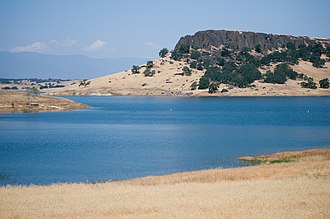 Stony Creek (Sacramento River tributary) - Black Butte Lake is the largest impoundment of Stony Creek and is the boundary between the upper and lower parts of the watershed.