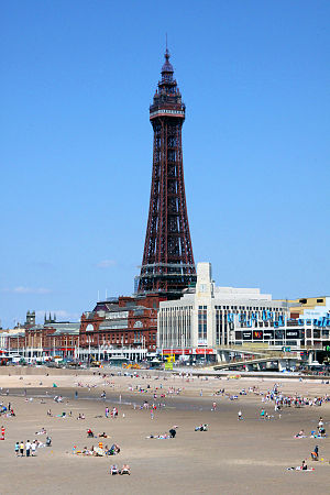 Maxwell and Tuke - Blackpool Tower 1891–94, the most notable extant work by the practice