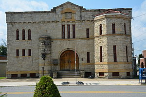 National Register of Historic Places listings in Indiana County, Pennsylvania - Image: Blairsville Armory