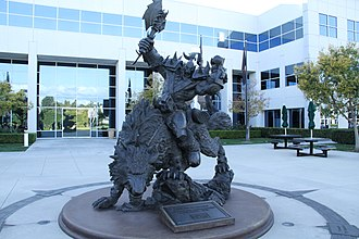 Blizzard Entertainment - Image: Blizzard Entertainment HQ statue