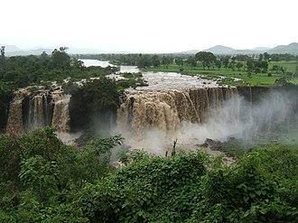 Amhara Region - The Blue Nile in the Amhara Region