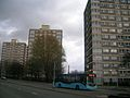 Bluebird Buses bus in Manchester route 181.jpg