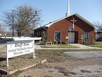 Bluff Dale, Texas - Image: Bluff Dale Texas United Methodist Church