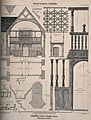 Blundell's School, Tiverton, Devon; architectural sections a Wellcome V0014549.jpg