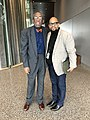 Bob Gore, Abyssinian Baptist Church Photographer and Dr. Eric Williams, Curator of Religion at NMAAHC.jpg