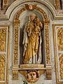 Bodilis (29) Église Notre-Dame Autel et retable de la Vierge 06.JPG