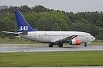 Boeing 737-783 'LN-RRN' Scandinavian Airlines System (44042072685).jpg