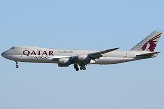 Qatar Airways - Qatar Airways Cargo Boeing 747-8F