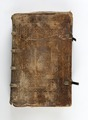 Bok klädd i pergament(skinn) - Skoklosters slott - 93204.tif