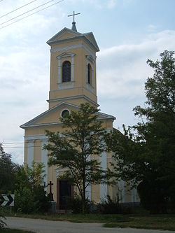 Boka village, Serbia, Catholic church.jpg