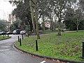Bollards within Park Crescent - geograph.org.uk - 1779423.jpg