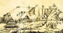 Bonjol (gambar dibuat tahun 1839)