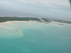 Bonriki International Airport, Tarawa Atoll, G...