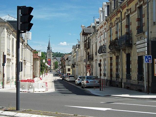Boulevard du Général de Gaulle (Cusset) rénové (ouest b) 2016-05-21