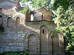 Kirkens yderside