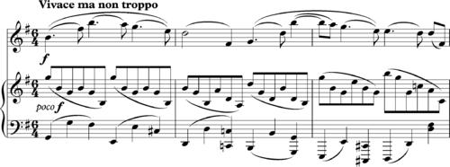 Brahms Violin Sonata In G 1 Bars 235ff