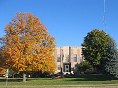Bremer County IA Courthouse