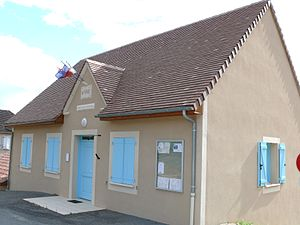 Brengues - The town hall in Brengues