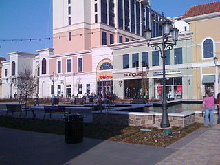 Bridge Street Town Centre Shopping mall in Alabama, United States