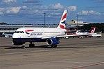 British Airways, G-EUOF, Airbus A319-131 (44131714932).jpg