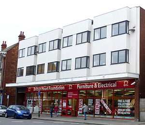 British Heart Foundation - A British Heart Foundation furniture and electricals shop, Gloucester