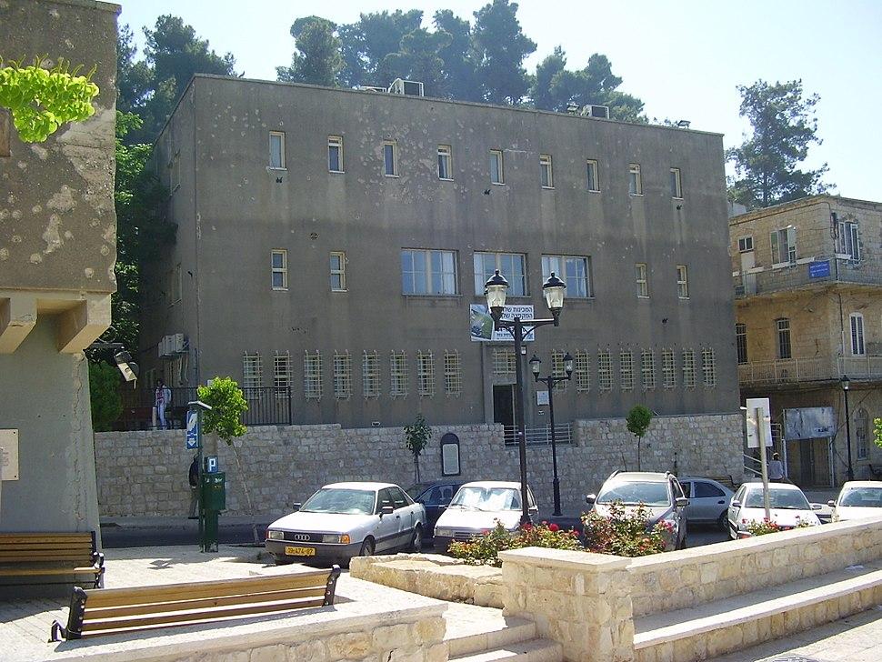 British Police Station in Safed