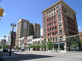 Broadway Avenue Historic District (Detroit, Michigan) United States historic place