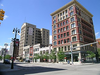 Broadway Avenue Historic District (Detroit, Michigan) - Image: Broadway Avenue Historic District Detroit, Michigan