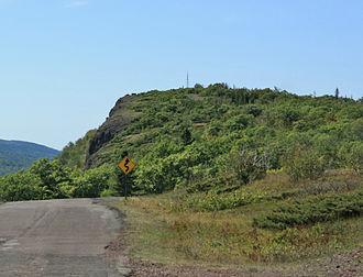Brockway Mountain Drive - Image: Brockway Mountain Peak
