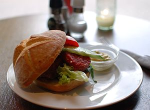 Ossenworst - Ossenworst sandwich