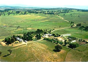 Gungahlin - ''Gold Creek'' was typical of the sheep properties of the Gungahlin region prior to development.
