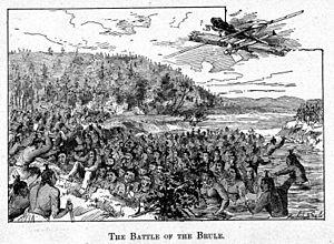 Kechewaishke - Image: Brule Battle