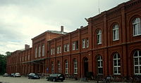 Brzeg Railway Main Station 2012.jpg
