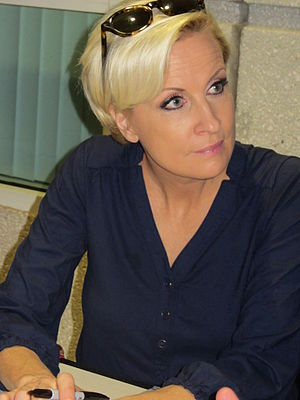 Mika Brzezinski - Brzezinski at the Miami Book Fair International 2013