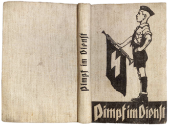 Pimpfe - Cover of the Pimpf im Dienst training manual, 1934