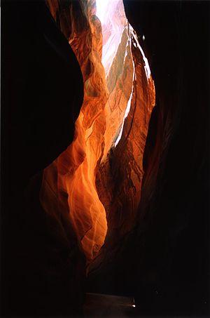Buckskin Gulch - Image inside of Buckskin Gulch.