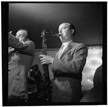Bud Freeman, New York City, 1947