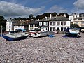 Budleigh Salterton, South Parade and the beach - geograph.org.uk - 1477261.jpg